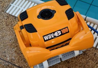 Ρομποτική επαγγελματική σκούπα πισίνας Maytronics Dolphin Wave 100